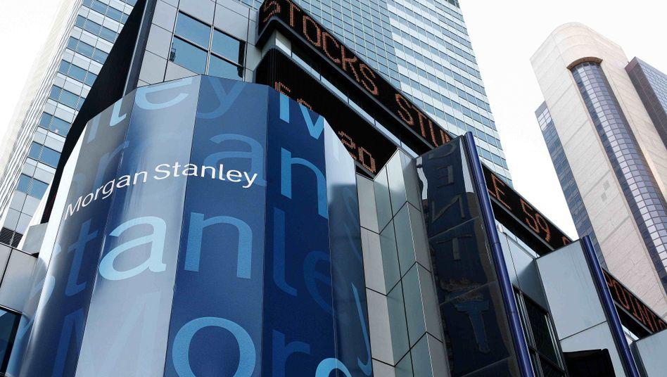 Sitz von Morgan Stanley in New York: Daumen runter vor dem Facebook-IPO