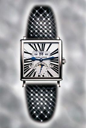 """Magisches Quadrat: Die """"Collection Golden Square"""" des Genfer Uhrmachers Roger Dubuis glänzt durch Exklusivität. Von den zehn Varianten der Baureihe gibt es jeweils nur 28 Exemplare."""