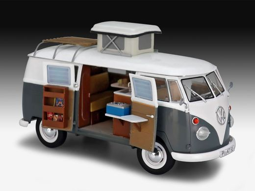 Mini-Camper: Der T1 von Volkswagen ist in der handlichen Version für 34,99 Euro zu haben