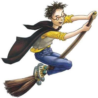 Schützt wirksam vor zuviel Fernsehen: Der Romanheld Harry Potter