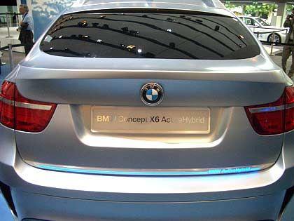 BMW X6 auf der IAA: Produktionszuwachs in der Luxusklasse