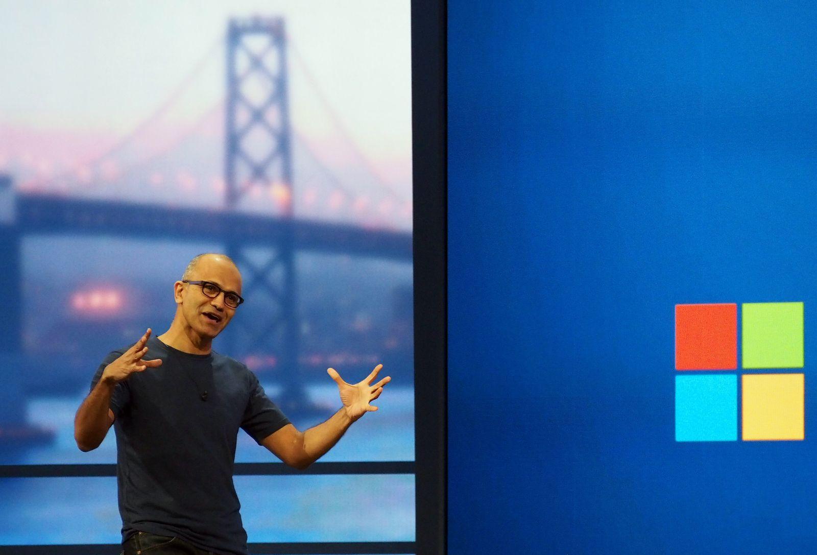 Microsoft-Entwicklerkonferenz Build Satya Nadella