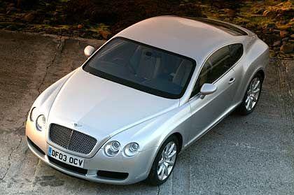 Sparsam: Die Bentleys sind traditionell eine preisgünstige Alternative. Den Continental GT gibt es ab 159.000 Euro
