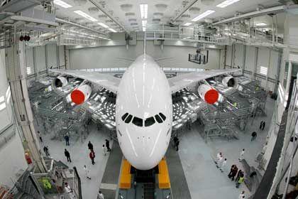 Airbus-Werke: Gerüchte über den Abbau von 10.000 Stellen