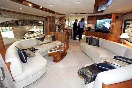 Luxus pur: Salon der Sunseeker 75