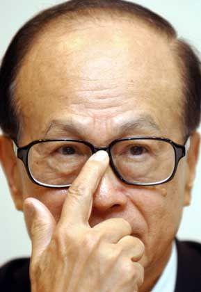 Kontrolliert den Hutchison-Konzern: Li Ka-shing