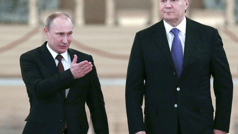 Lockruf des Geldes:Putin will die Ukraine mit Krediten und billigem Gas an sich binden