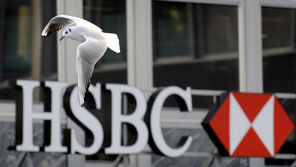 Die stark in Asien engagierte britische Großbrank HSBC rechnet im laufenden Jahr mit Kreditausfällen von bis zu 13 Milliarden Dollar