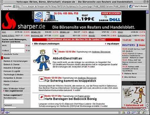 Sharper.de - ein ausgeträumter Traum