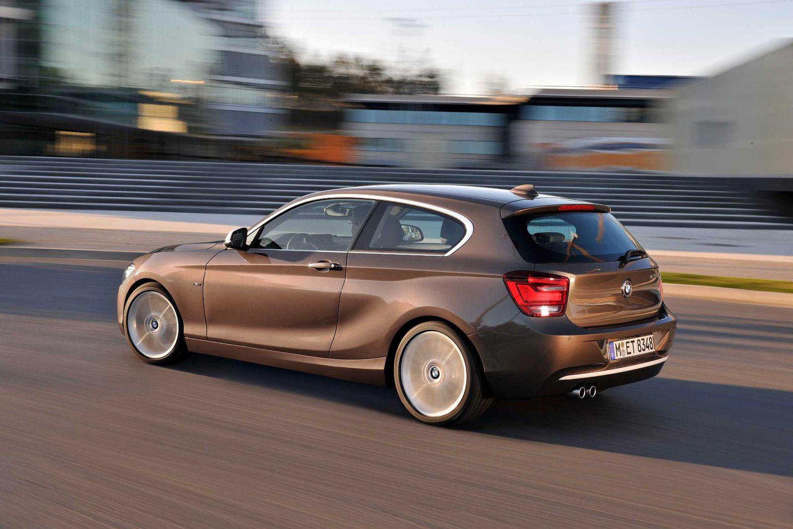 Der neue BMW 1er 3-Türer