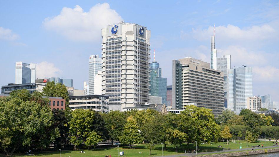 Milliarden-Umschlagplatz: Zentrale von Union Investment in Frankfurt am Main.
