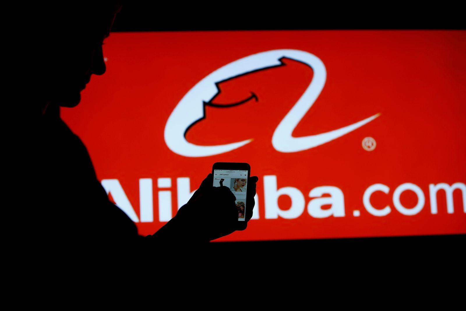 EINMALIGE VERWENDUNG Alibaba / Online shopping services