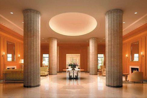 Ehrwürdige Hallen: Standesgemäßes Ambiente für Milliardäre und Showstars