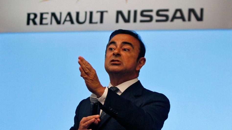Carlos Ghosn ist Vorstandschef von Renault und Verwaltungsratsvorsitzender von Nissan