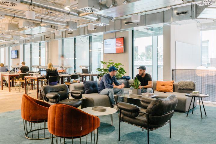 WeWork in Frankfurt: WeWork richtet Unternehmen auch deren eigenen Niederlassungen ein
