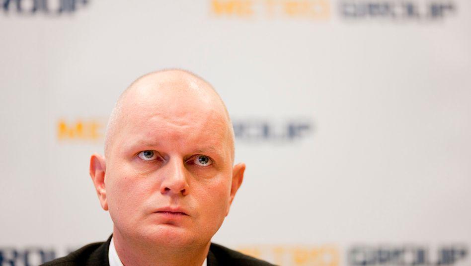 Abgang zum Jahresende: Olaf Koch verlässt die Metro