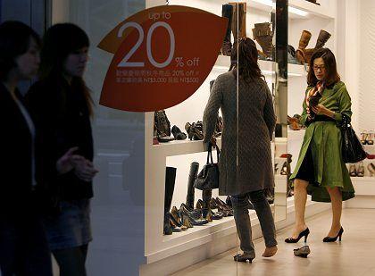 Shoppen ohne Reue: Der Staat unterstützt in Taiwan die Einkäufe der Bürger mit 85 Euro pro Person