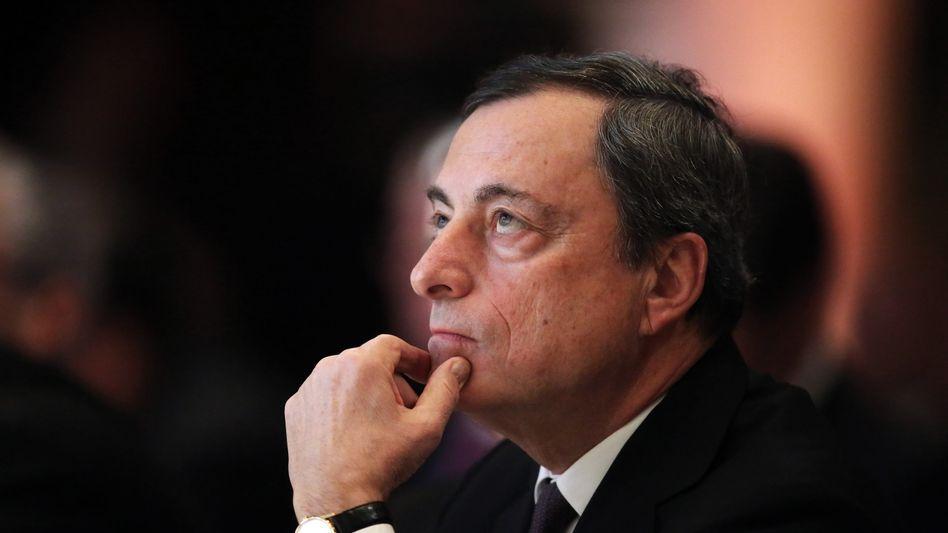 EZB-Chef Mario Draghi: Die EZB fährt einen riskanten Kurs - doch Anleger hoffen auf noch mehr billiges Geld