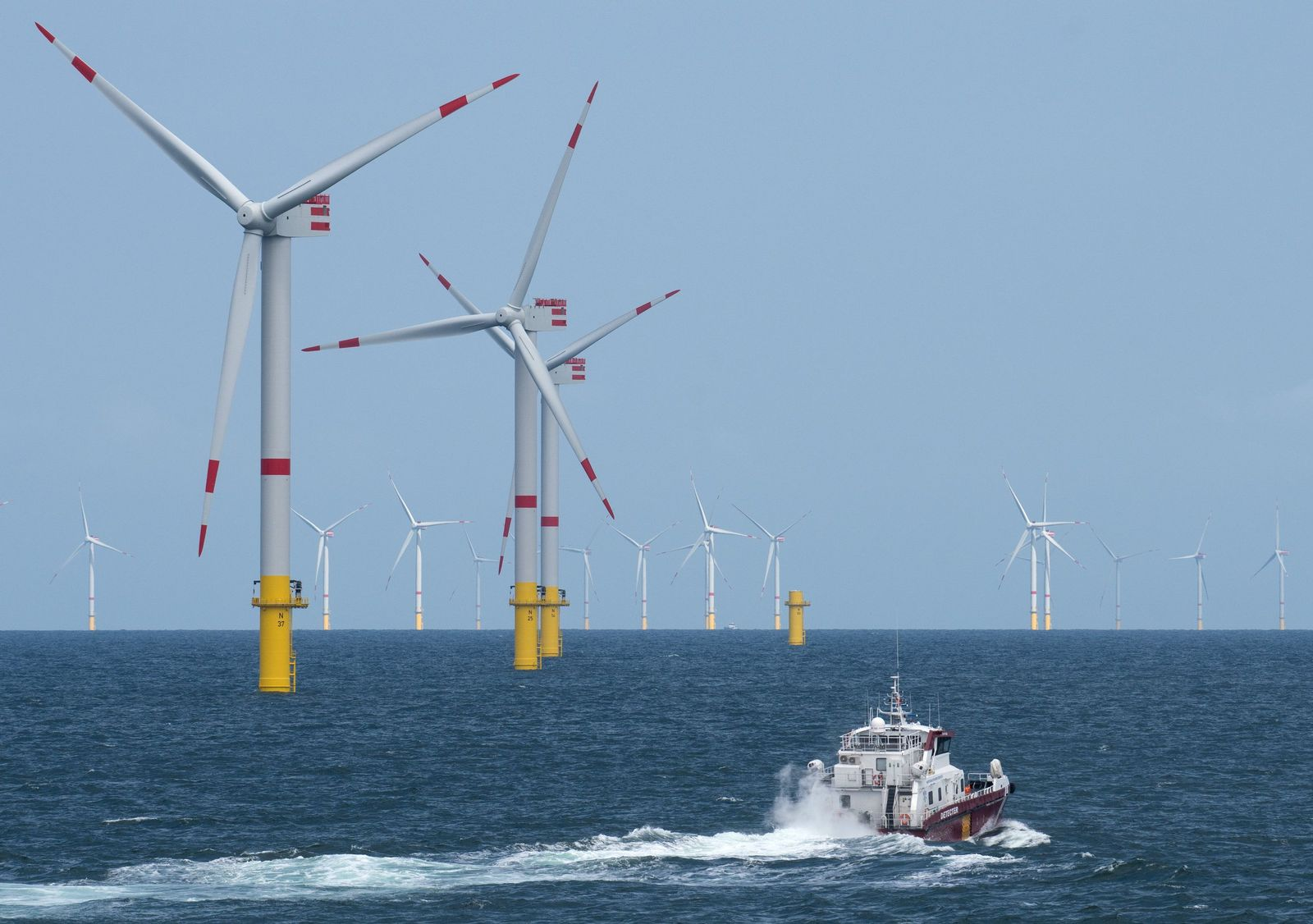 Offshore-Windpark Nordsee 1