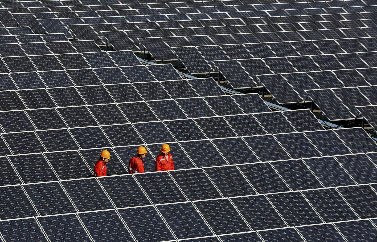 Solar Solarfeld China Solaranlage