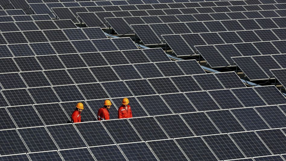 Neues Solarkraftwerk in Tongxiang, China: Die Volksrepublik überholt Deutschland in Kürze als Land mit den größten Sonnenkraftwerken