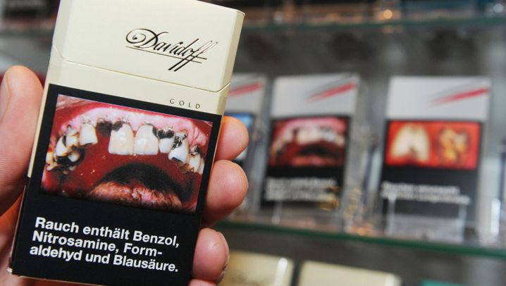 Zigaretten: Schockverpackungen weltweit
