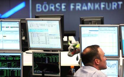 Frankfurter Börse: Die Aktienkurse geben nach