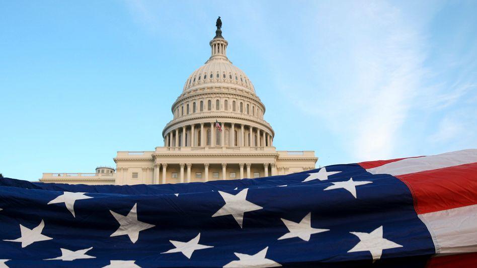 Kapitol in Washington: Den Republikanern gehen die geplanten Einsparungen der Demokraten nicht weit genug