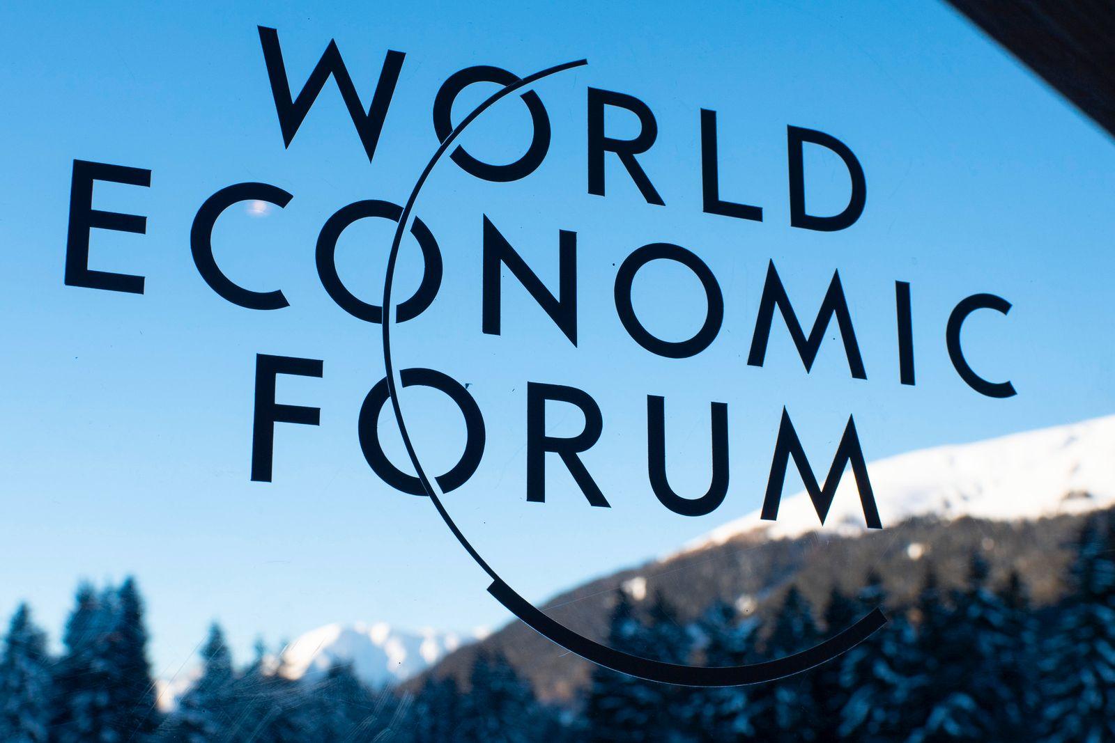Weltwirtschaftsforum in Davos / Logo