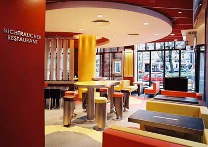 """Neues Innendesign für McDonald's Deutschland: Variante """"Generation"""""""