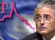 Schwierige HV: Konzernchef Ron Sommer muss seinen Aktionären den drastischen Kursverlust erklären