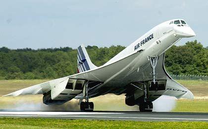 Überschalllegende Concorde: Vision von langfristiger Natur