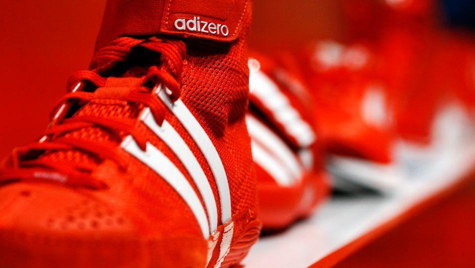 Steigende Umsätze: Doch die Tochter Reebok belastet die Adidas-Bilanz