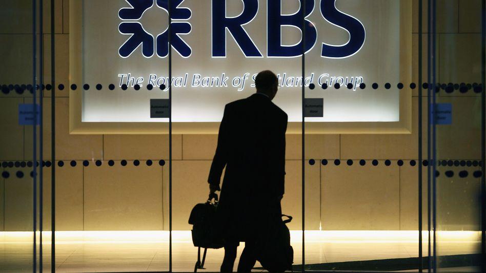 In Schwierigkeiten: Die Royal Bank of Scotland hat Probleme mit ihren Griechenland-Anleihen
