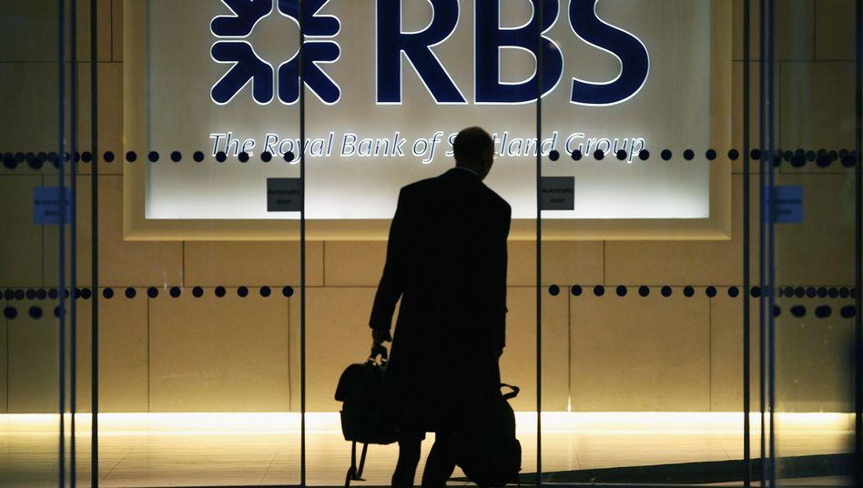 Abgestuft: Gleich drei Noten schlechter bewertet Moody's die Royal Bank of Scotland