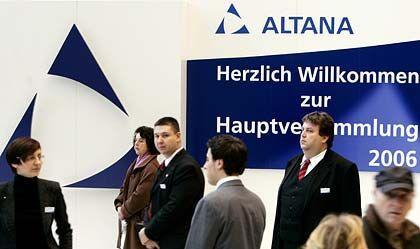 Kritik auf der HV: Dennoch stimmten die Aktionärsschützer dem Verkauf der Pharma-Sparte von Altana zu.
