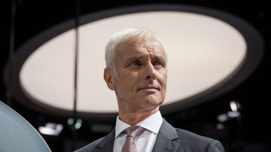 Nicht ganz uneigennütziger Vorstoß: VW-Konzernchef Matthias Müller