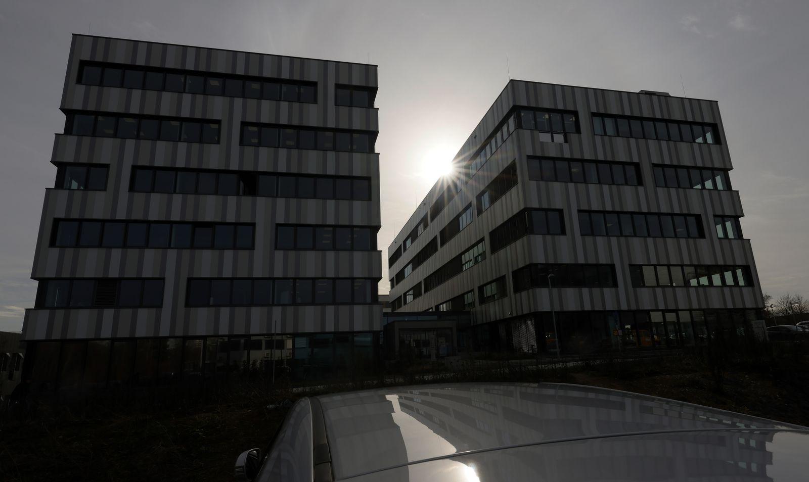 Vaccine company CureVac in Tuebingen, Germany - 04 Feb 2021