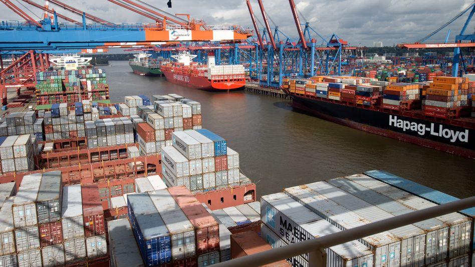 Boomender Güterverkehr: Die deutsche Wirtschaft erwartet bei Ex- und Import ein Rekordergebnis