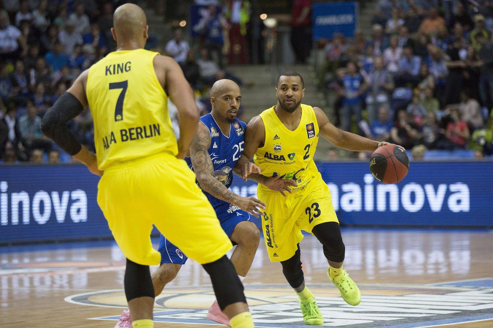 EINMALIGE VERWENDUNG Basketball / Alba Berlin