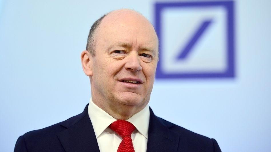 """John Cryan: """"Konsolidierung in Deutschland muss sich beschleunigen"""""""