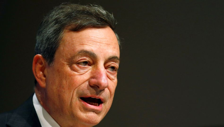 Ruhige Hand: EZB-Chef Mario Draghi