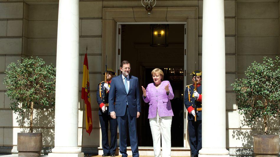 """Angela Merkel, Mariano Rajoy: """"Mängel an der Architektur Europas beseitigen"""""""