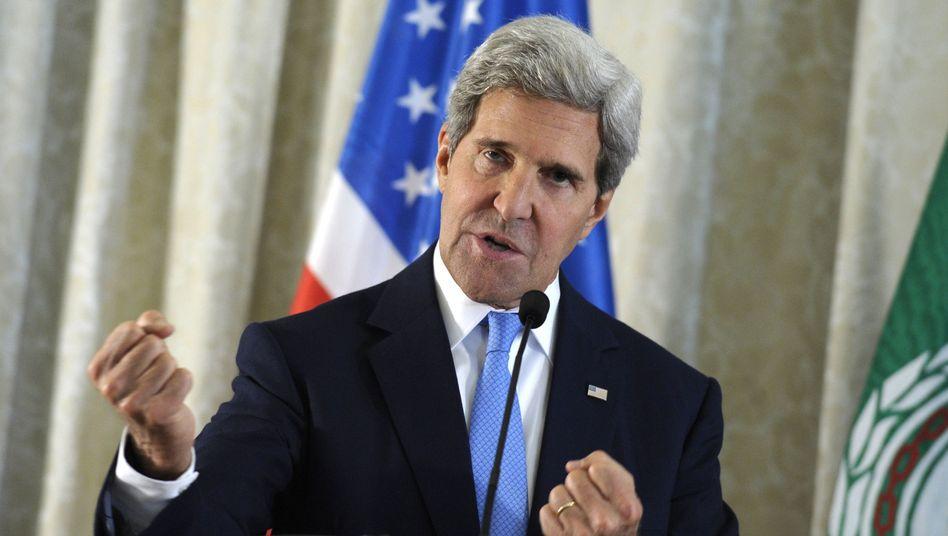 US-Außenminister Kerry: Die Zustimmung des US-Kongress für einen Militärschlag gegen Syrien ist äußerst unsicher