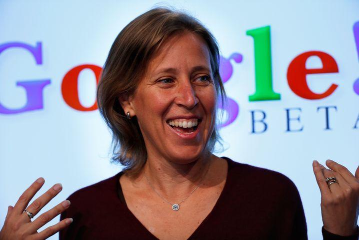 Google-Urgestein: Youtube-Geschäftsführerin Susan Wojcicki