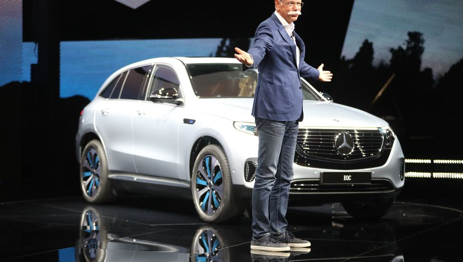 Daimler-Chef Dieter Zetsche (im September 2018 in Stockholm)
