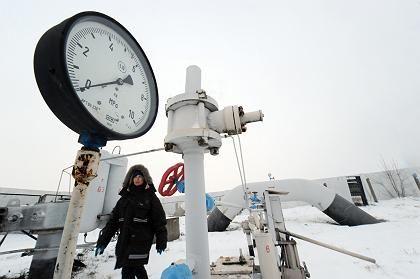 Wenig Druck: Die Pipeline zwischen Russland und der Ukraine befördert zurzeit nicht viel