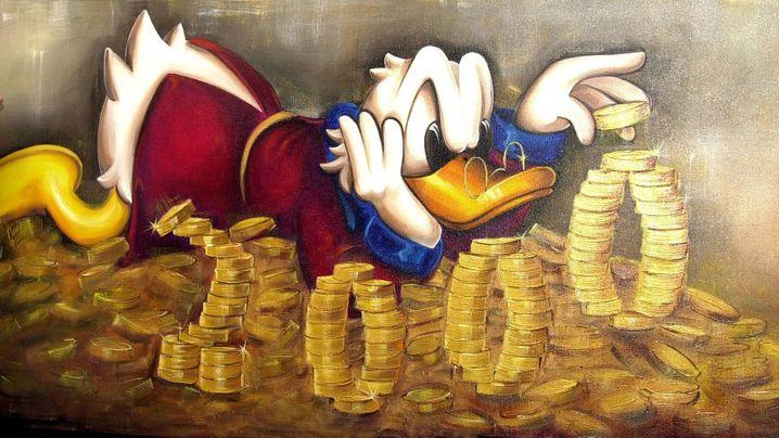 Geld, Geld, Geld: Vieles im Leben dreht sich darum, vor allem, wenn man keines hat