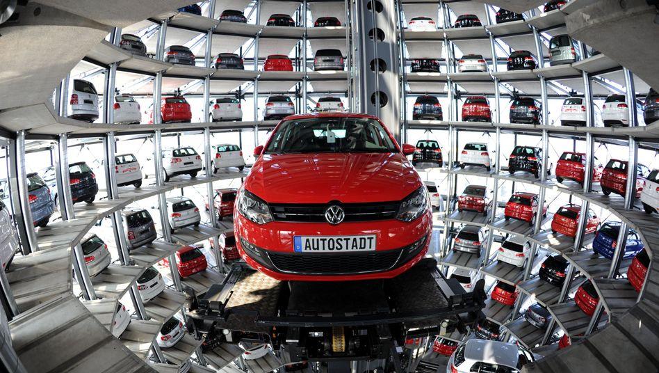 VW Golf VI bei der Auslieferung: Auch für gebrauchte VW-Diesel-Modelle steigen die Preise - aber weniger stark als bei der Konkurrenz