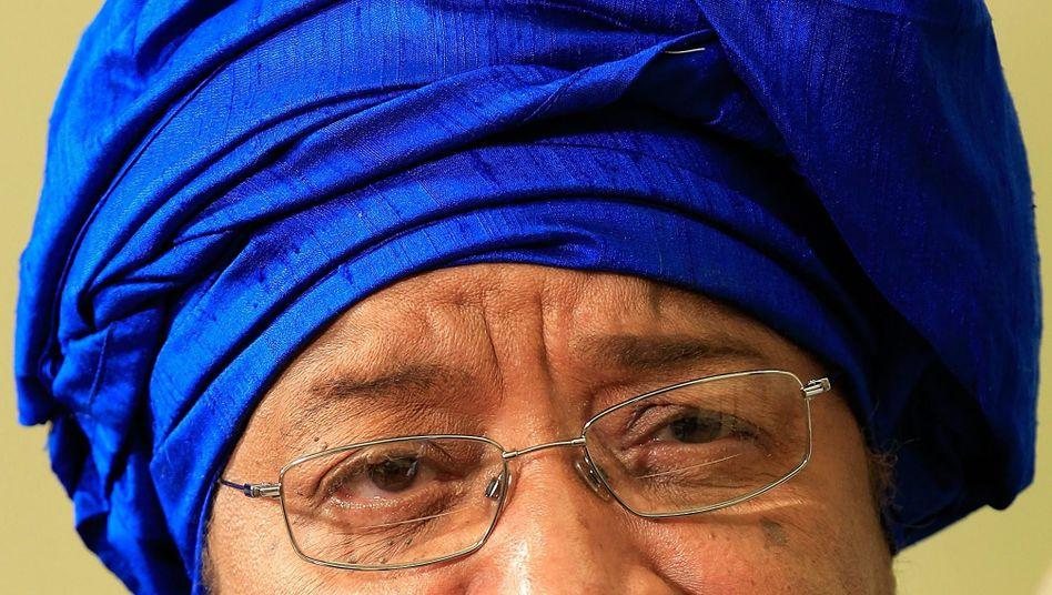 Ellen Johnson-Sirleaf: Die Präsidentin von Libera ist 2011 eine von drei Friedensnobelpreis-Trägerinnen